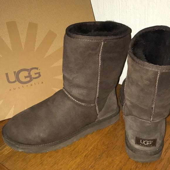1b4f5befbd7 ugg boots classic short chocolate